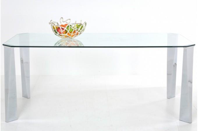 Table repas en verre pas ch re - Table en verre pas chere ...