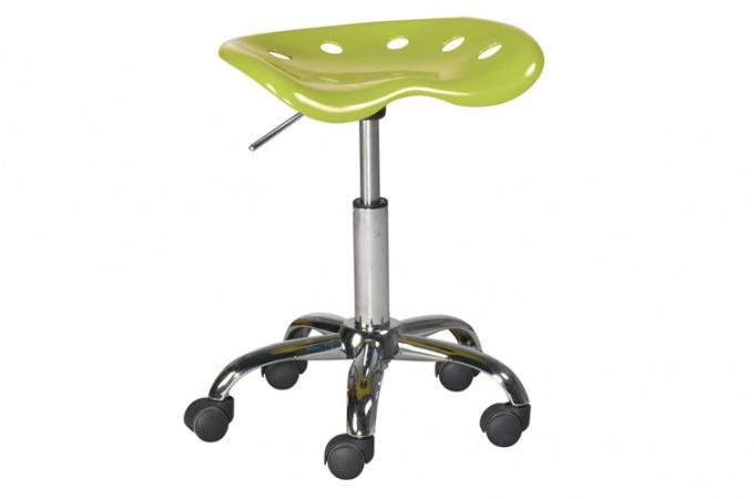 tabouret a roulette vert popi tabouret roulette pas cher. Black Bedroom Furniture Sets. Home Design Ideas