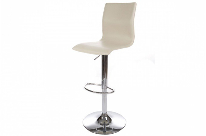 tabouret de bar blanc design utopia tabourets de bar pas cher. Black Bedroom Furniture Sets. Home Design Ideas