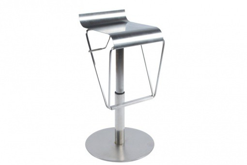 tabouret de bar elite acier bross tabourets de bar pas cher. Black Bedroom Furniture Sets. Home Design Ideas