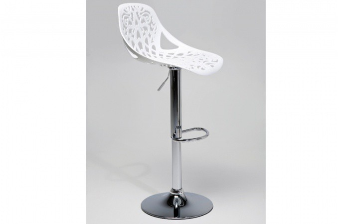 tabouret de bar blanc haddok declikdeco. Black Bedroom Furniture Sets. Home Design Ideas