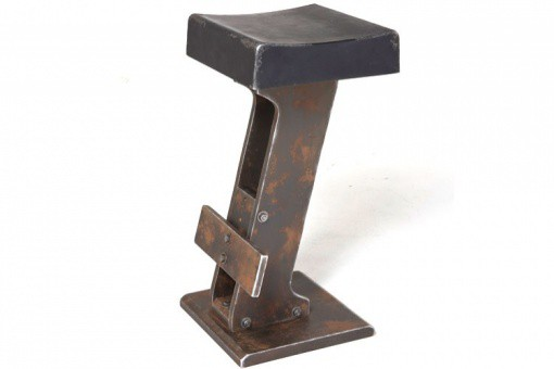 Tabouret de Bar Kare Design Style Industriel Loft Noir, deco design KARE DESIGN