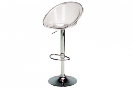 Tabouret De Bar Design Transparent ROXY - Tabouret de bar design