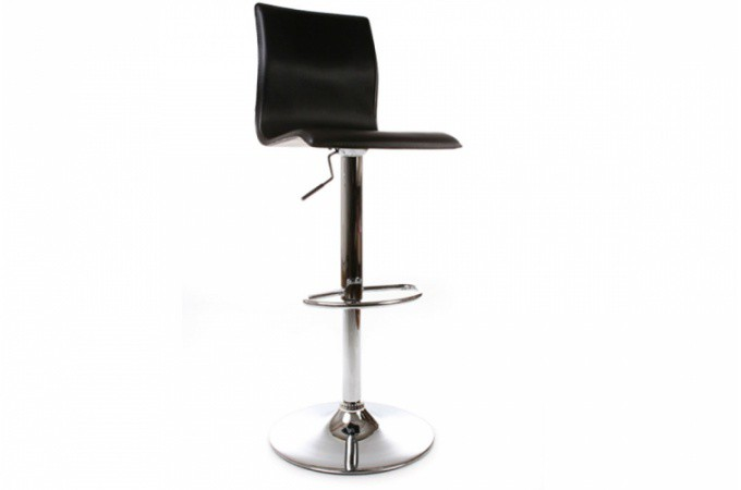 tabouret reglable noir design arthur tabourets de bar. Black Bedroom Furniture Sets. Home Design Ideas