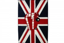 Tapis Deco London Bus 70X130 Cm - Deco meuble british