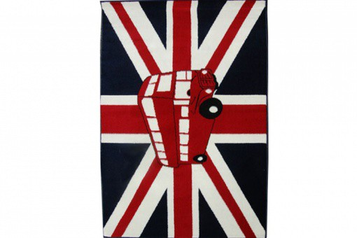 Tapis Deco London Bus 70X130 Cm