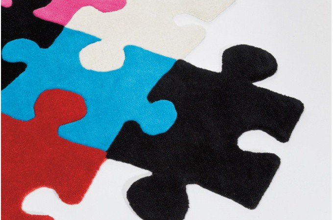 tapis puzzle pas cher. Black Bedroom Furniture Sets. Home Design Ideas