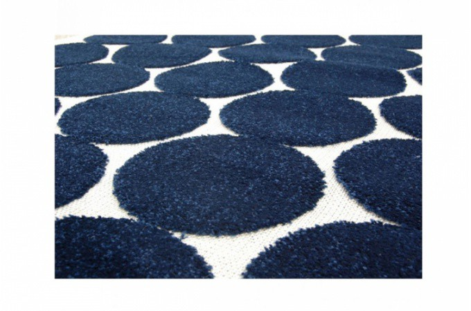 tapis design bubble bleu 160x230 cm tapis design pas cher. Black Bedroom Furniture Sets. Home Design Ideas