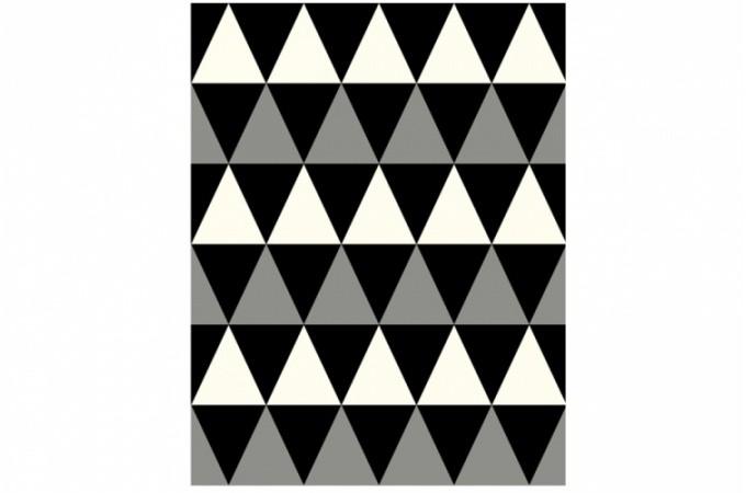 Tapis design pas cher tapis moderne pour deco design sur - Tapis noir blanc gris ...