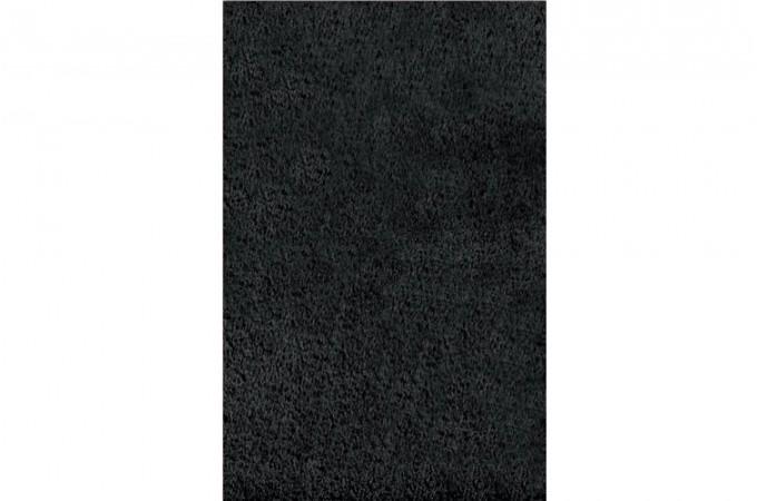 Tapis poils noir shaggy 160x230 cm tapis design pas cher - Tapis shaggy noir pas cher ...