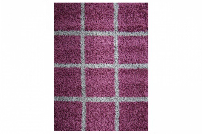 tapis design shaggy lila pas cher. Black Bedroom Furniture Sets. Home Design Ideas