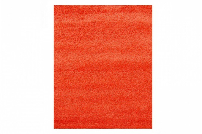 tapis poils shaggy orange 60x180 cm tapis design pas cher. Black Bedroom Furniture Sets. Home Design Ideas