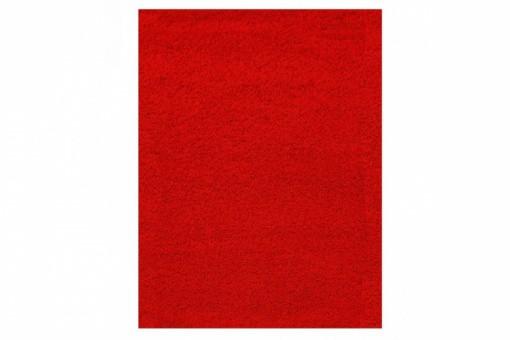 tapis poils shaggy rouge 200x290 cm tapis design pas cher. Black Bedroom Furniture Sets. Home Design Ideas