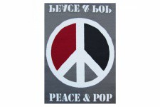 Tapis Pop Peace And Love 120X160 cm - Tapis design