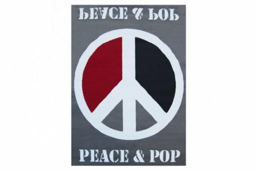 Tapis Pop Peace And Love 120X160 cm