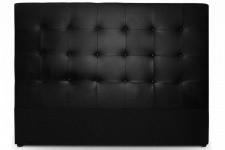Tête de Lit Tête de lit capitonnée 140 cm Cocoon noir, deco design
