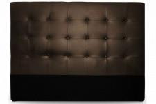 t te de lit capitonn e 160cm cocoon blanc t tes de lit capitonn es pas cher. Black Bedroom Furniture Sets. Home Design Ideas