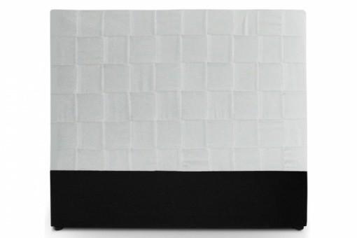 T te de lit blanche pas ch re - Tete de lit en cuir blanc ...