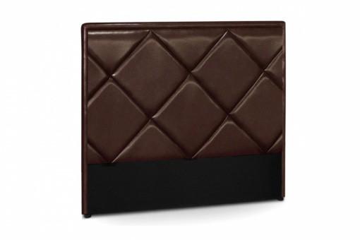 T te de lit en simili cuir choco rams s 140 cm t te de lit pas cher - Tete de lit 140 cm pas cher ...