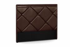 Tête de Lit Tête de lit en simili cuir choco Ramsés 160 cm, deco design