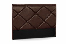 Tête de Lit Tête de lit en simili cuir choco Ramsés 180 cm, deco design