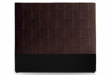 Tête de Lit Tête de lit en simili cuir marron 160 cm Kalo, deco design