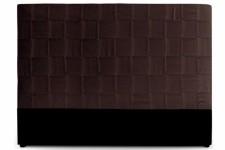 Tête de Lit Tête de lit en simili cuir marron 180 cm Kalo, deco design