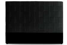 Tête de Lit Tête de lit en simili cuir noir 180 cm Kalo, deco design