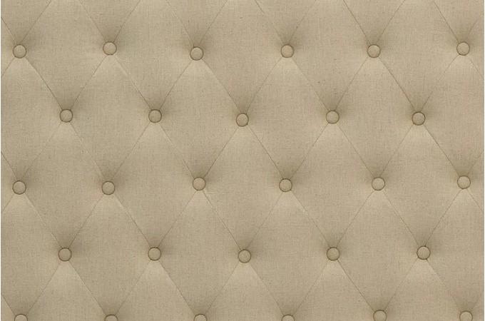t te de lit capitonn e en lin beige 140 cm t tes de lit. Black Bedroom Furniture Sets. Home Design Ideas
