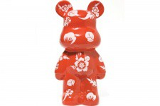 Tirelire Ourson Funky rouge - Cadeau femme design