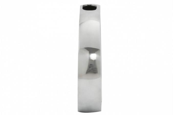 vase argent ovalo vases et vides poches pas cher declik deco. Black Bedroom Furniture Sets. Home Design Ideas