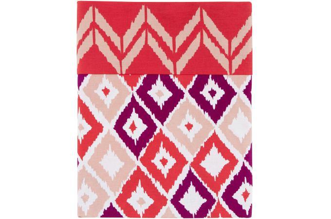 parure de lit rose boukhara 140x200 cm et une taie d 39 oreiller 65x65 cm housse de couette et. Black Bedroom Furniture Sets. Home Design Ideas