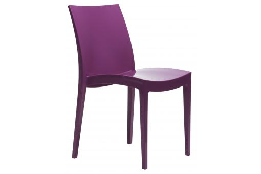 Chaise Design Violet Flashy LONDON