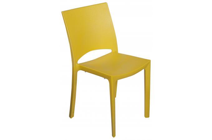 chaise design jaune effet croco arlequin chaise design pas cher. Black Bedroom Furniture Sets. Home Design Ideas