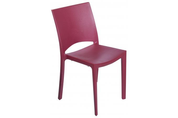chaise design rouge effet croco arlequin chaise design pas cher. Black Bedroom Furniture Sets. Home Design Ideas