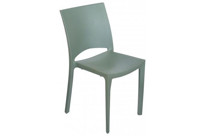 Chaise design verte effet croco arlequin chaise design for Chaise verte