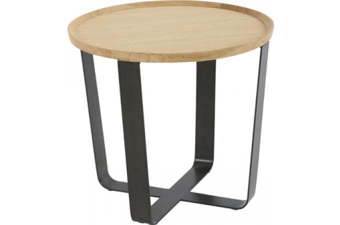 bout de canap rond dilla table d 39 appoint pas cher. Black Bedroom Furniture Sets. Home Design Ideas