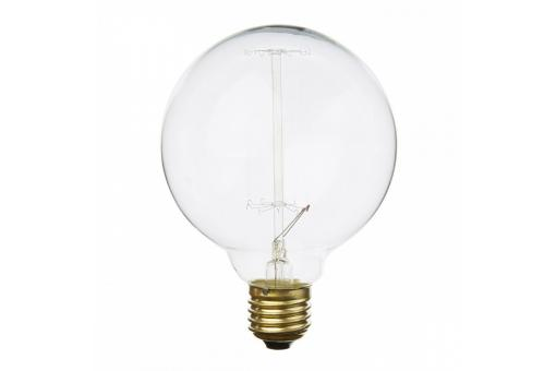 ampoule d corative r tro edison globe 8 cm filament. Black Bedroom Furniture Sets. Home Design Ideas