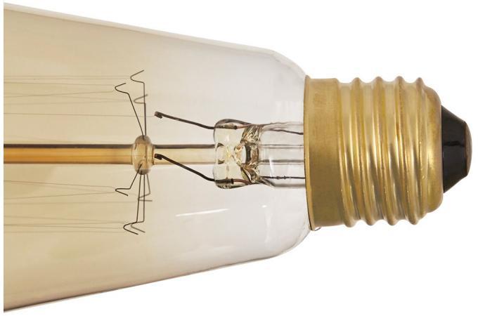 ampoule industrielle 15cm koba ampoule filament design pas cher. Black Bedroom Furniture Sets. Home Design Ideas