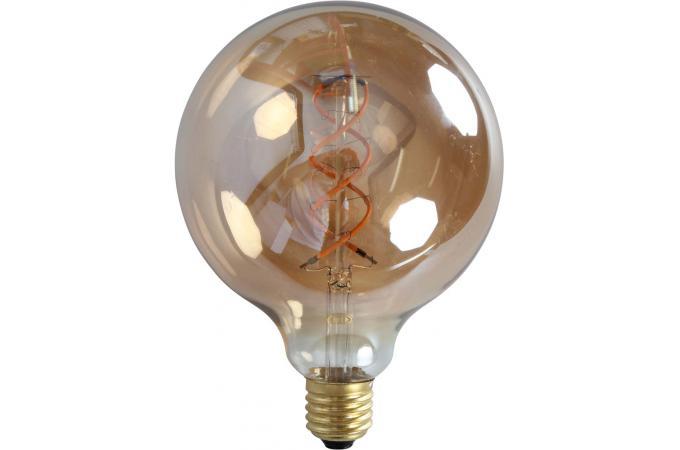 ampoule led r tro globe zigzag edison ampoule filament. Black Bedroom Furniture Sets. Home Design Ideas