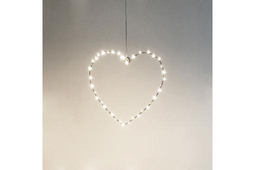 Applique Cœur A suspendre 40 LED CORAZON