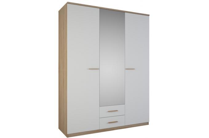 armoire 3 portes but cool armoire portes tiroirs chne. Black Bedroom Furniture Sets. Home Design Ideas