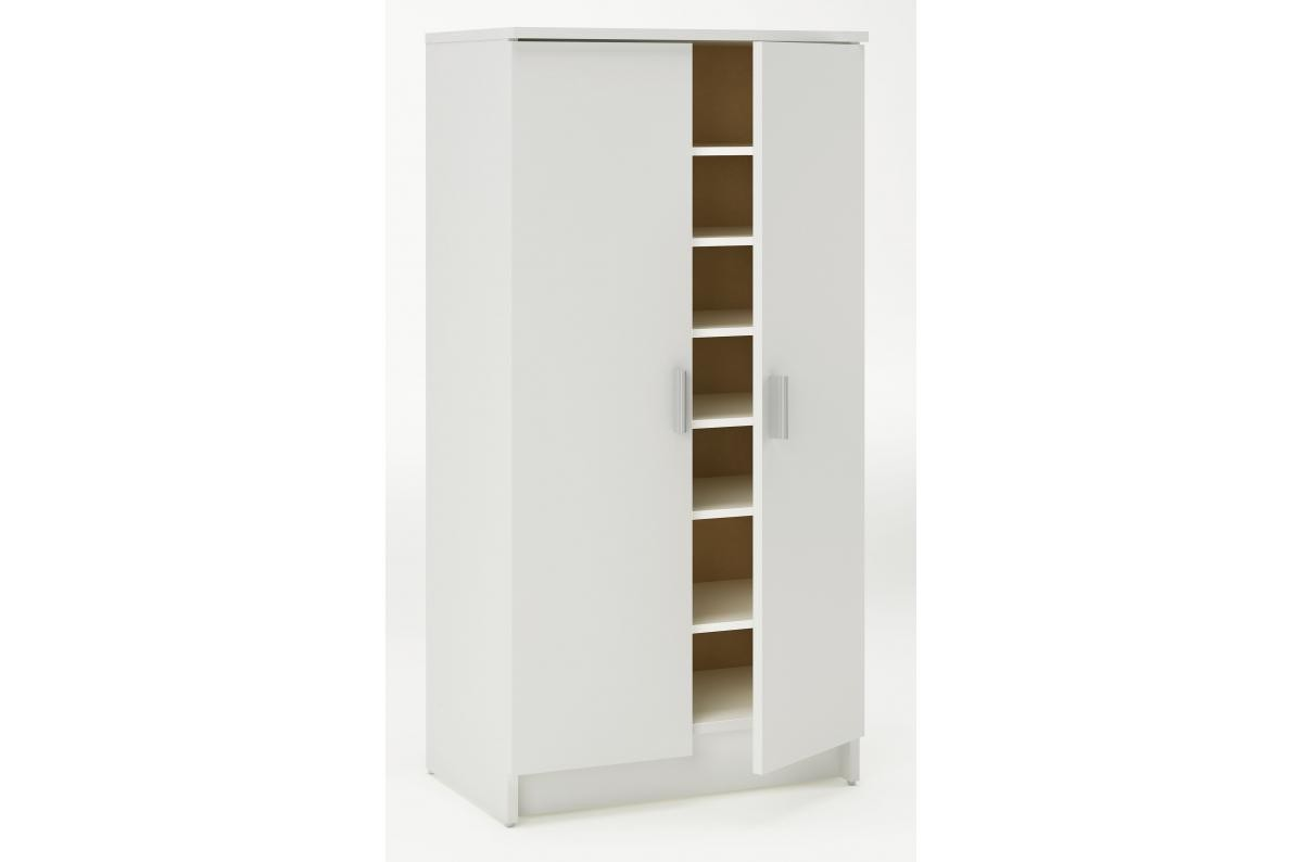 Armoire A Chaussures 2 Portes Sama Meuble A Chaussures Pas Cher