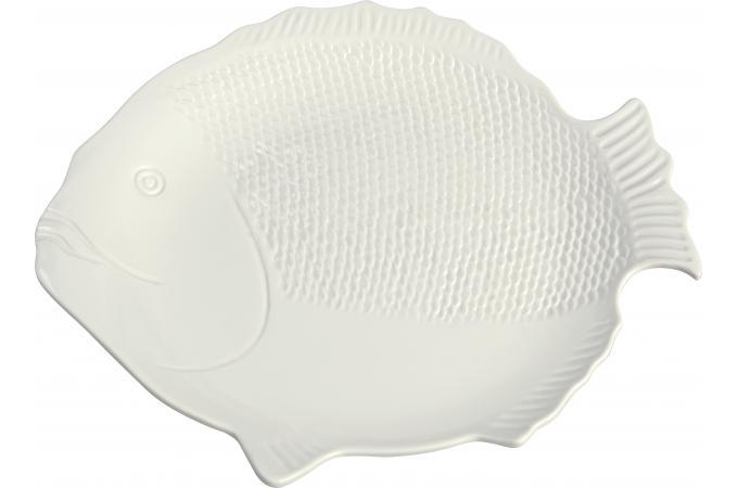 assiette poisson blanche moyen mod le accessoires cuisine sali re gant pas cher. Black Bedroom Furniture Sets. Home Design Ideas
