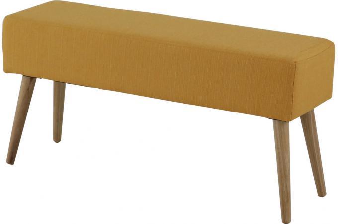 banc scandinave jaune mallory banquette m ridienne pas. Black Bedroom Furniture Sets. Home Design Ideas