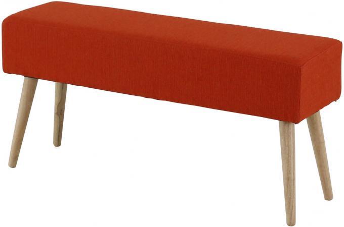 banc scandinave rouge mallory banquette m ridienne pas. Black Bedroom Furniture Sets. Home Design Ideas