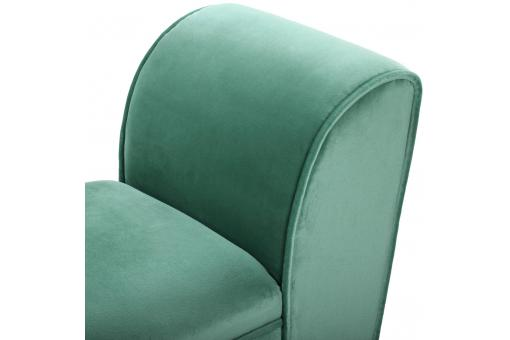 Banc Velours Turquoise ROBLES