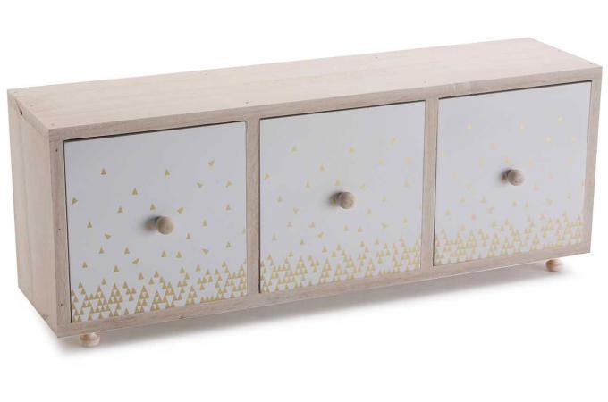 boite a bijoux en bois 3 rangements astilbe porte bijoux pas cher. Black Bedroom Furniture Sets. Home Design Ideas