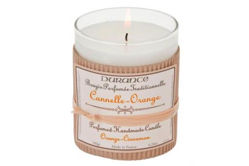Durance - Bougie Traditionnelle DURANCE Parfum Cannelle Orange SWANN