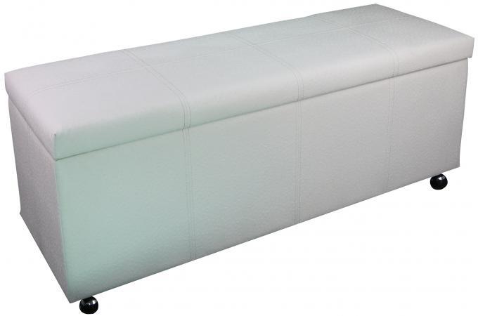 bout de lit coffre blanc pied de lit pas cher. Black Bedroom Furniture Sets. Home Design Ideas